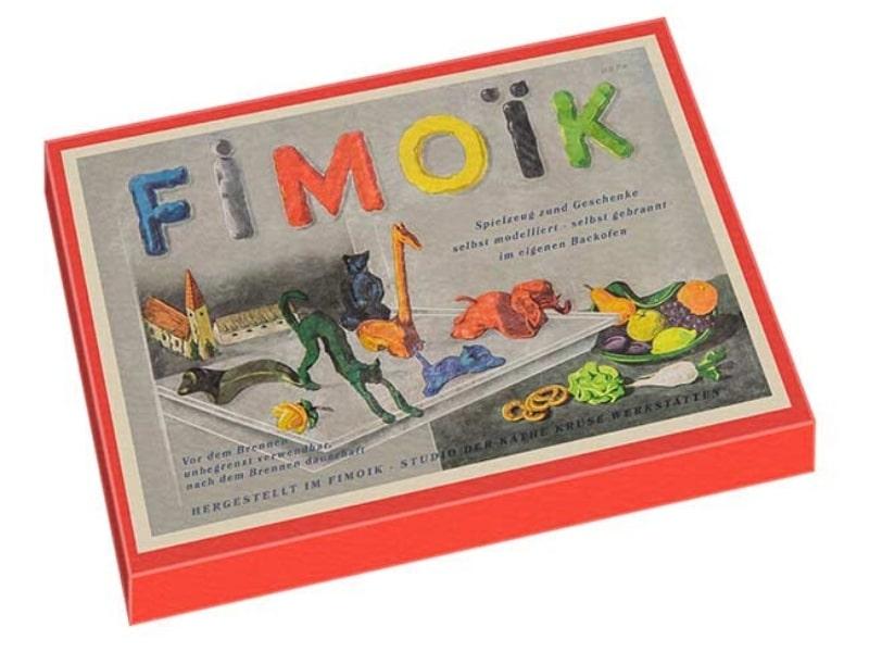 1er pain d'argile polymère commercialisé pour le grand public : Fimoïk